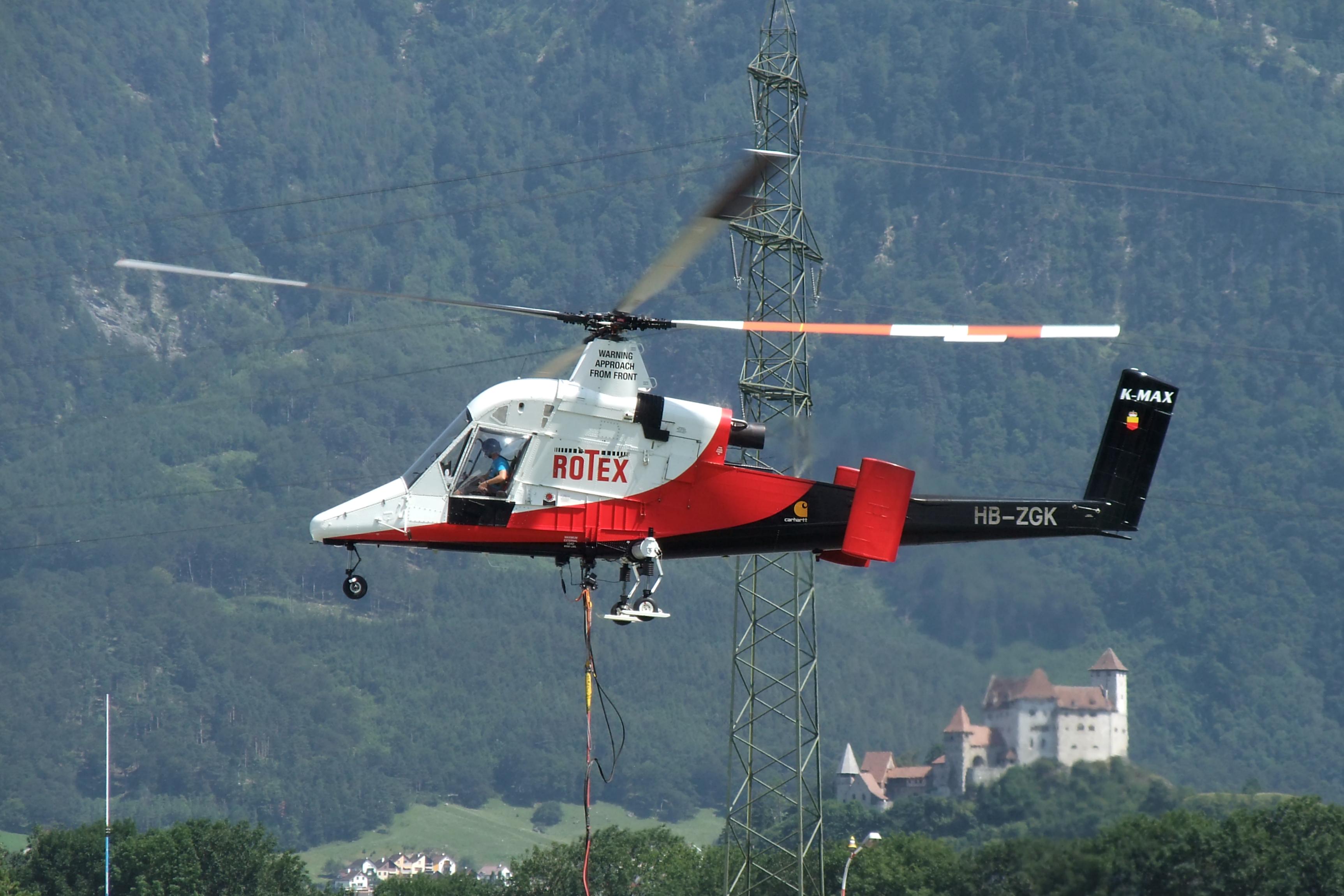Vertipedia   Kaman K MAX K 1200